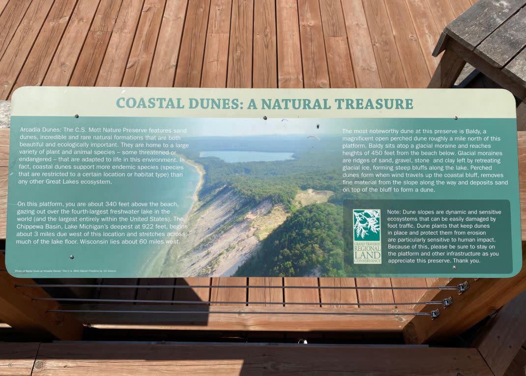 Arcadia Dunes Sign