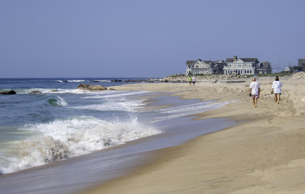 Walking East Beach
