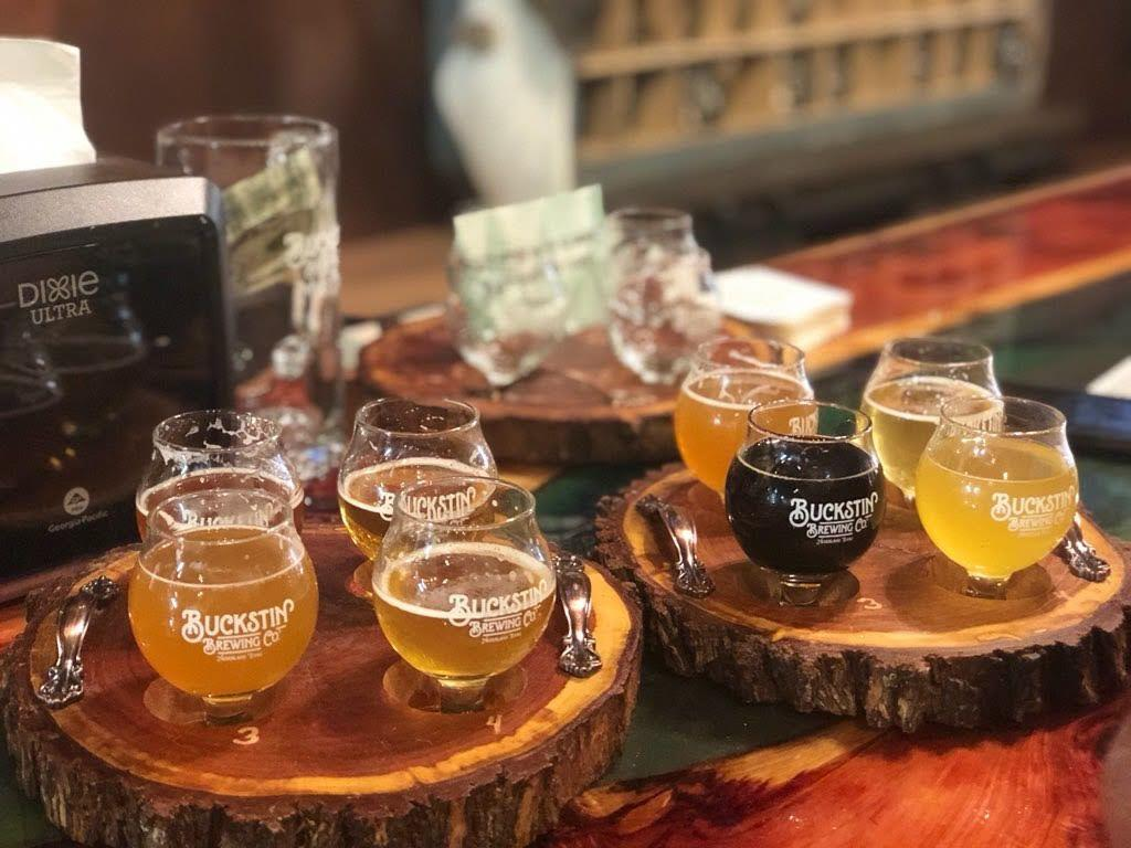 Buckstin Beer Flights