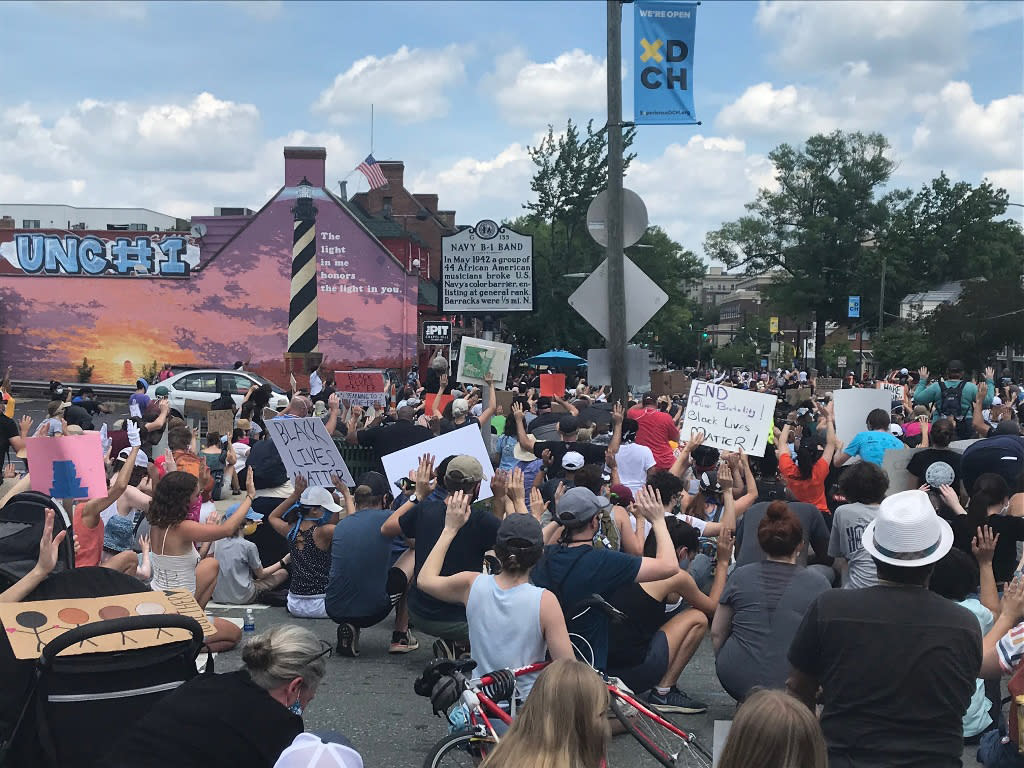 June 6 2020 NAACP sponsored Rally for Justice in Chapel Hill