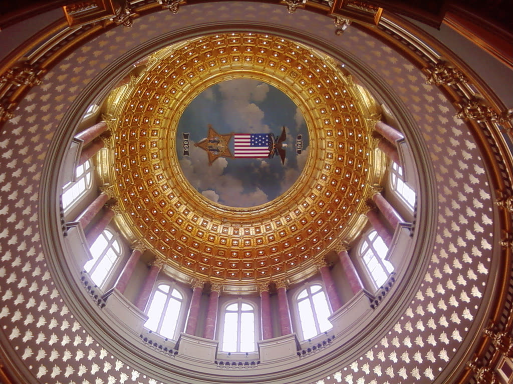 Iowa State Capitol Building Dome