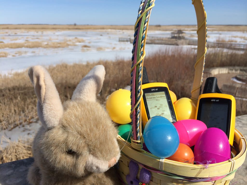 Oak Hammock Marsh-Easter and GPS Egg Hunt