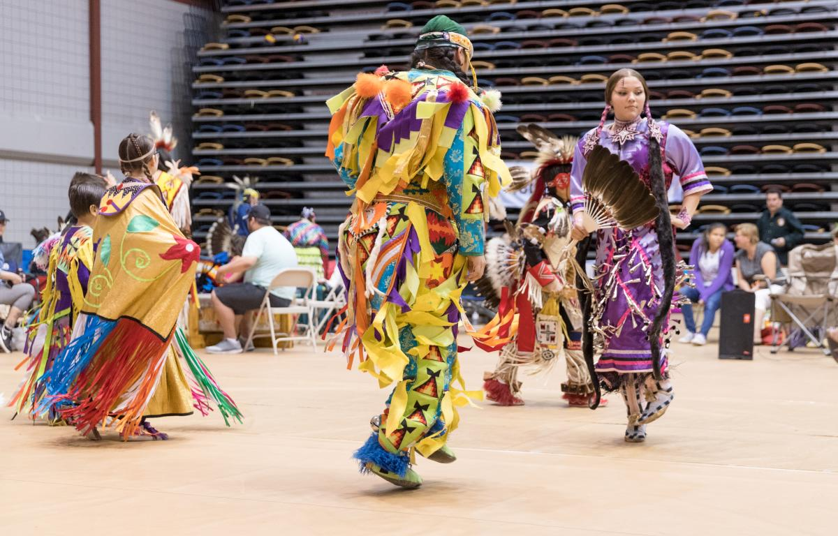 U of M_pow wow_dancing