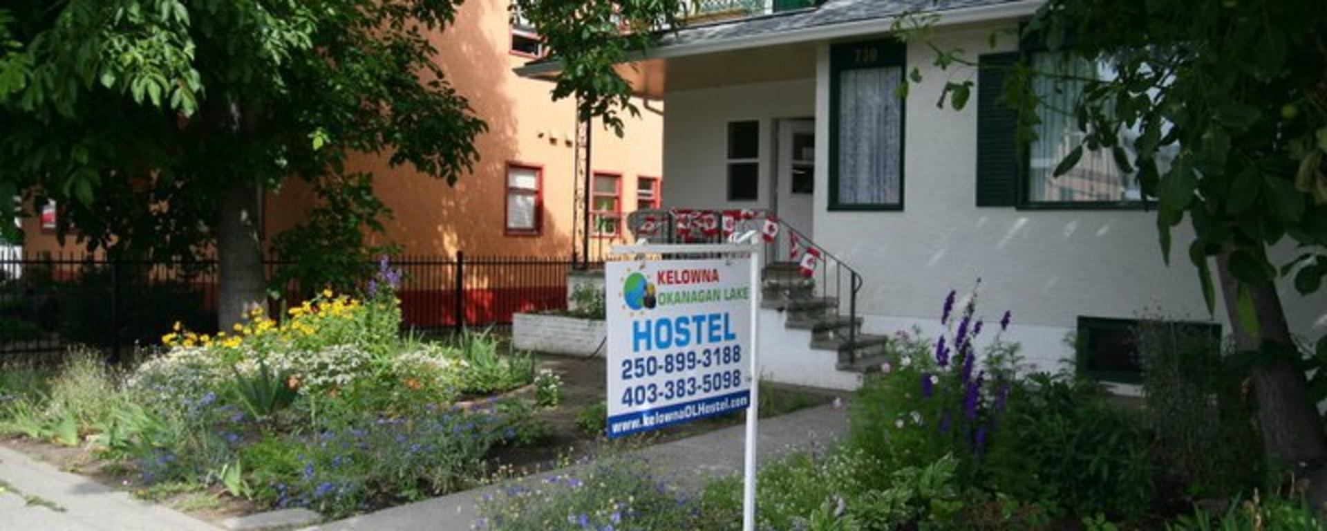 Kelowna Okanagan Lake Hostel
