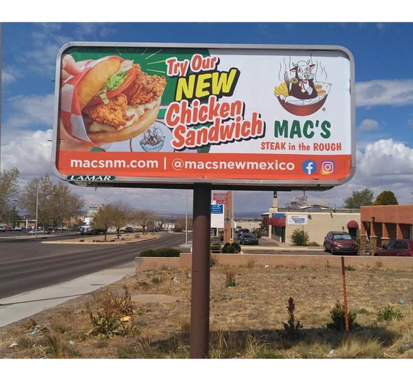 Mac's Steak - New Chicken Sandwich