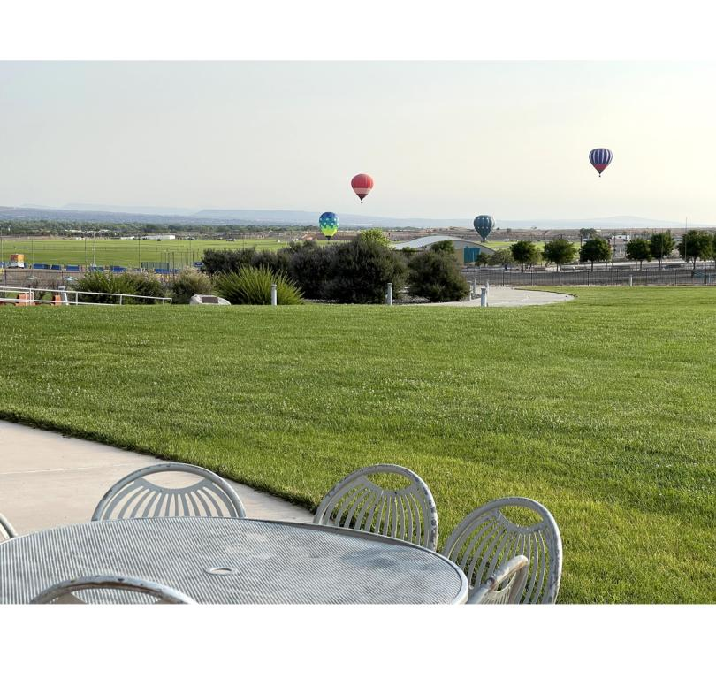 Hilltop Viewing Experience at Balloon Museum during Fiesta Season