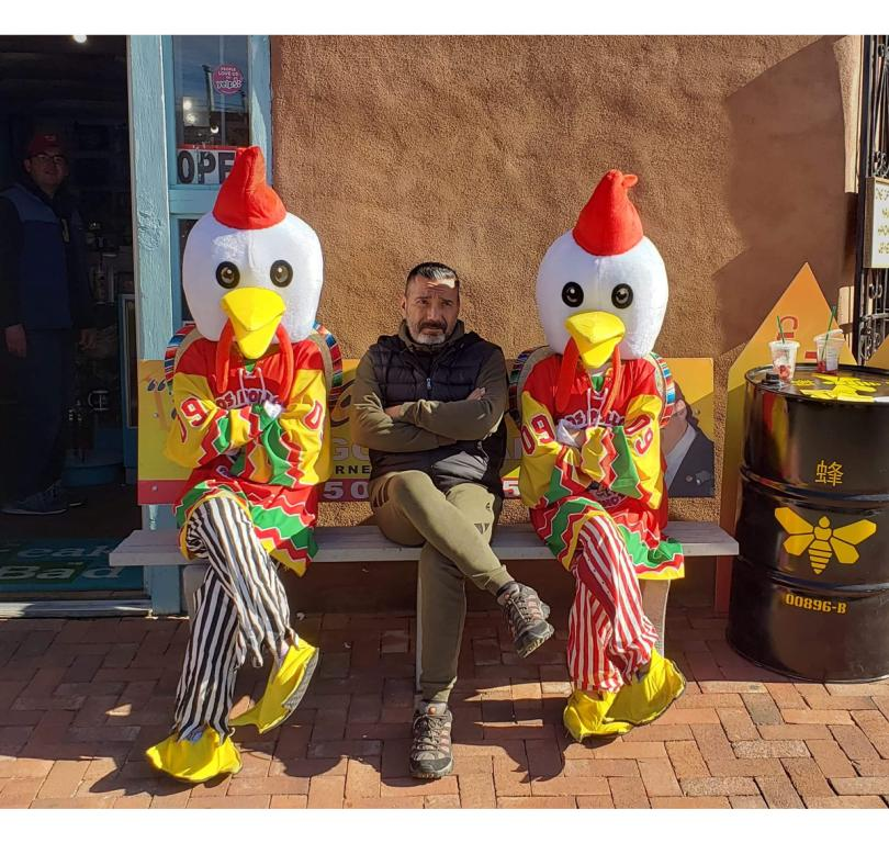 Steven Michael Quezada With Los Pollos Hermanos