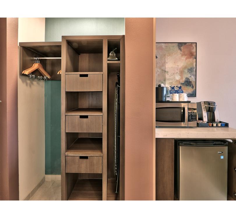 Closet-Microwave-Fridge-Keurig