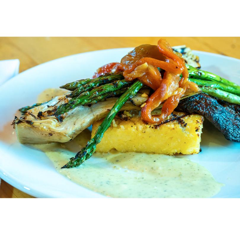 Grilled Vegetables & Grilled Polenta