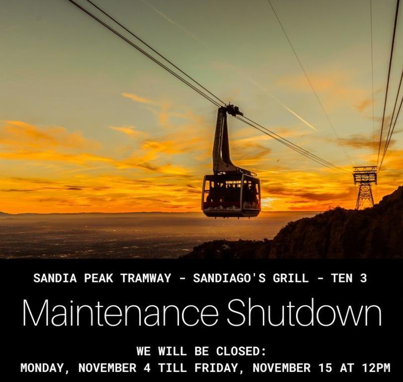 Maintenance Shutdown Fall 2019