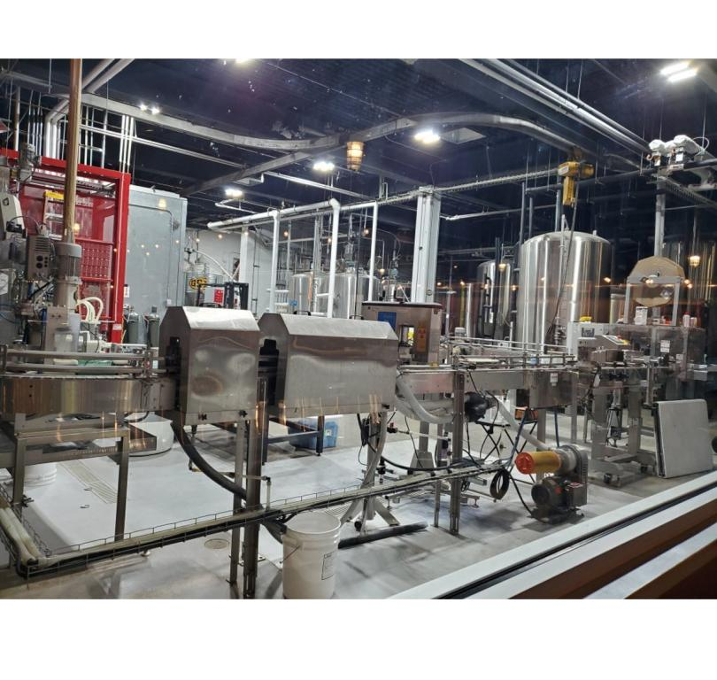 Canning & Brewing area
