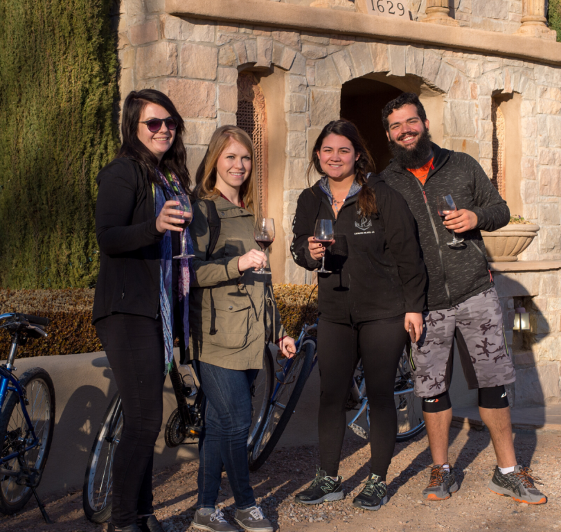 Routes Bike & Wine Tour