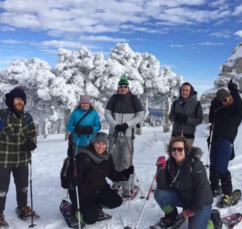 Routes Sandia Snowshoe Tours