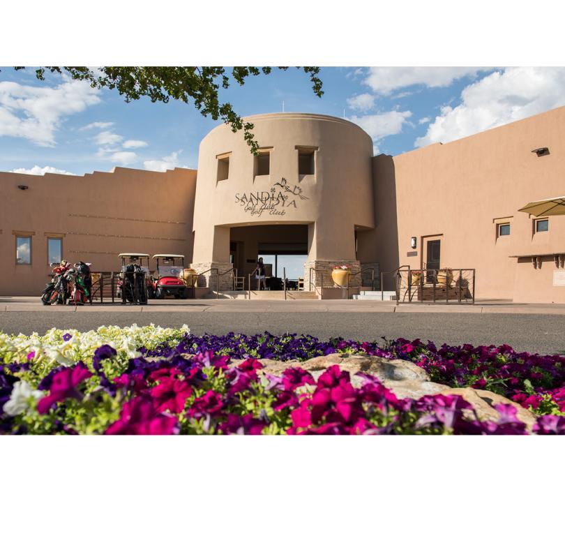 Sandia Golf Club Entrance