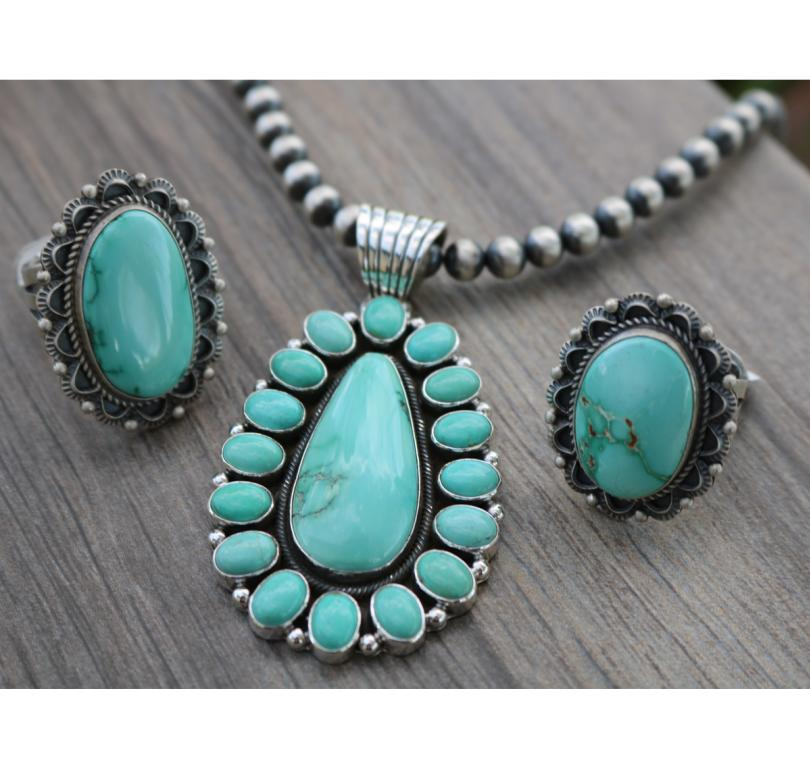Fox Turquoise Jewelry