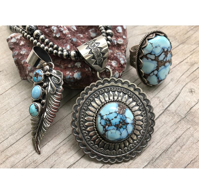 Golden Hills Turquoise Jewelry