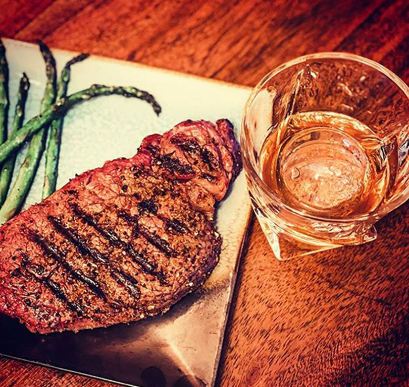 Taylor Garrett Whiskey and Steak
