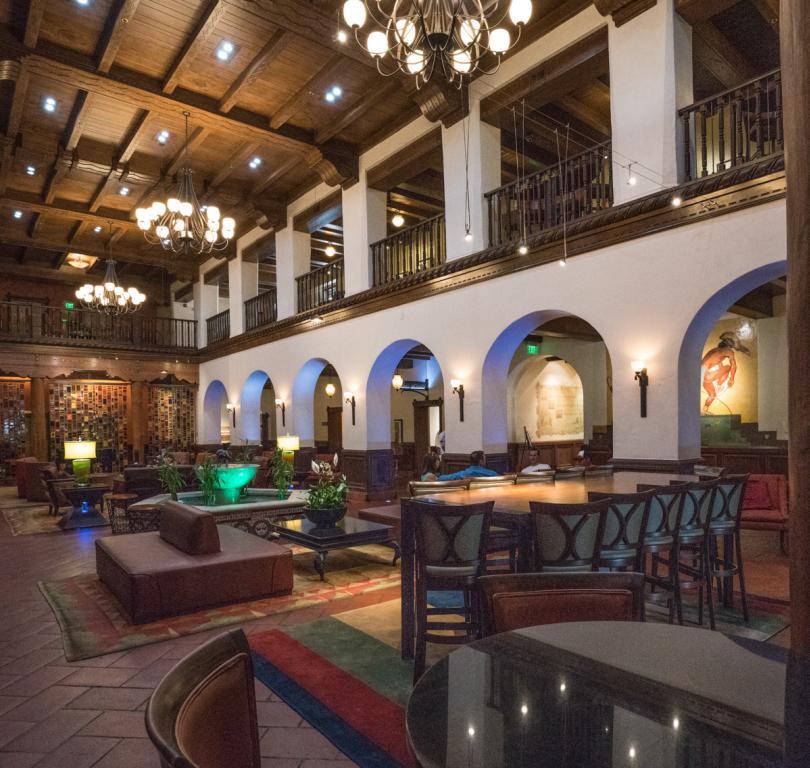 Restored Interior of the 1939 Hilton Hotel