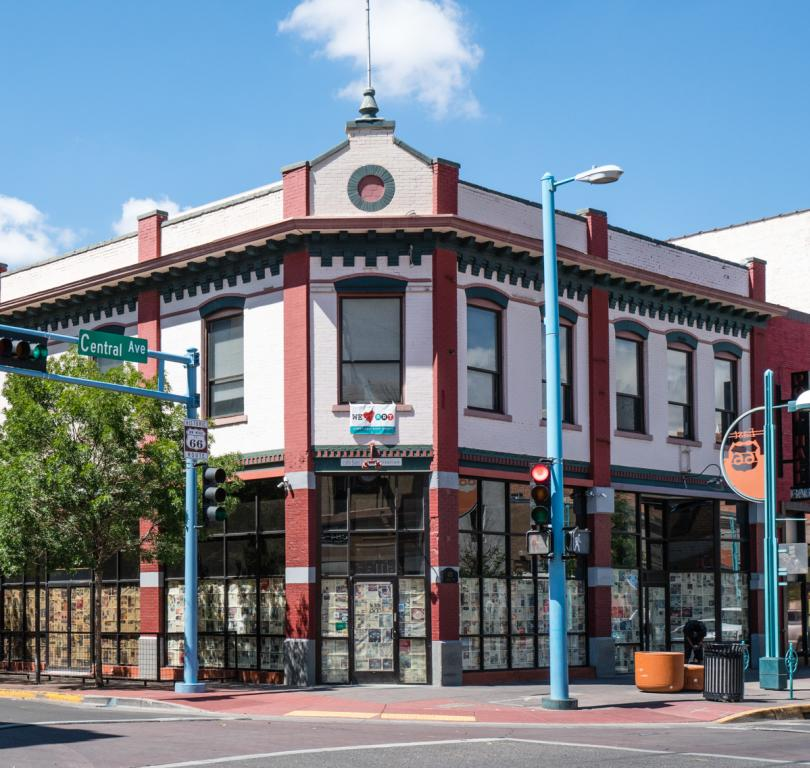 Yrisarri Building constructed in 1909 on 4th and Central