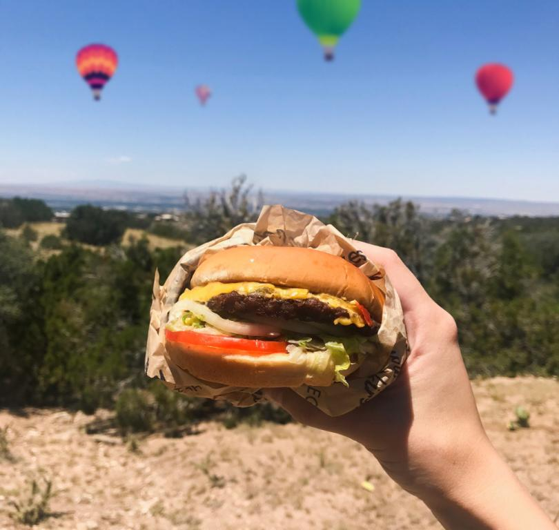 Cheeseburger Balloons