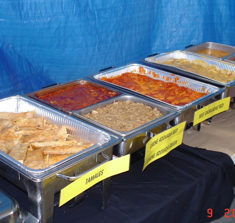 Catering trays