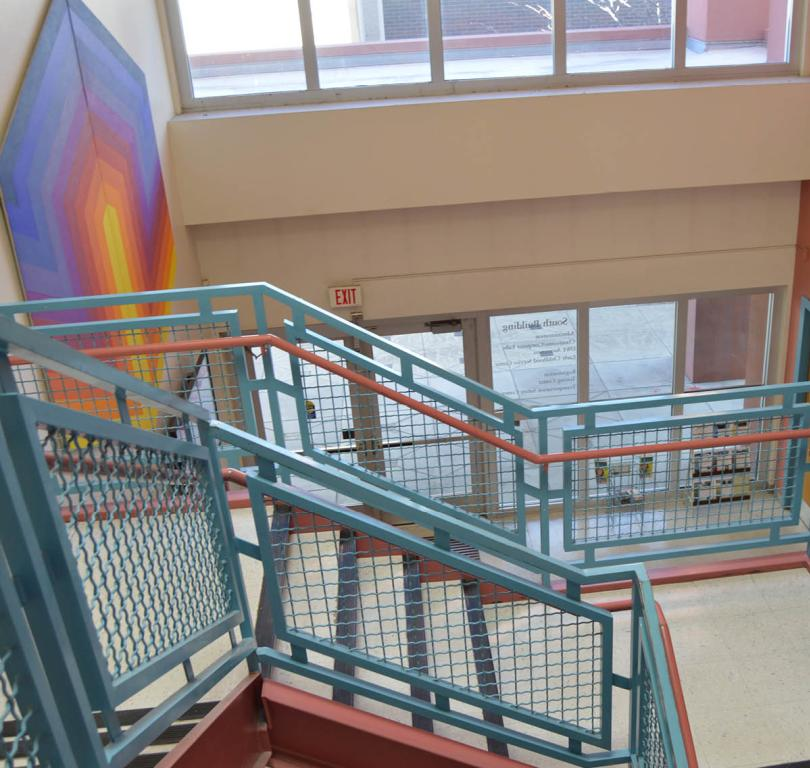 ce south building stairs