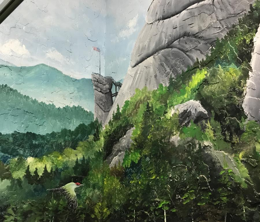 Chimney Rock State Park Mural