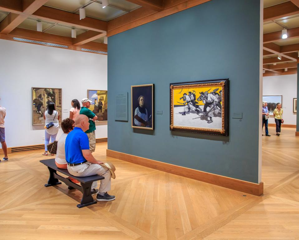 The Brandywine River Museum of Art features an outstanding collection of American art