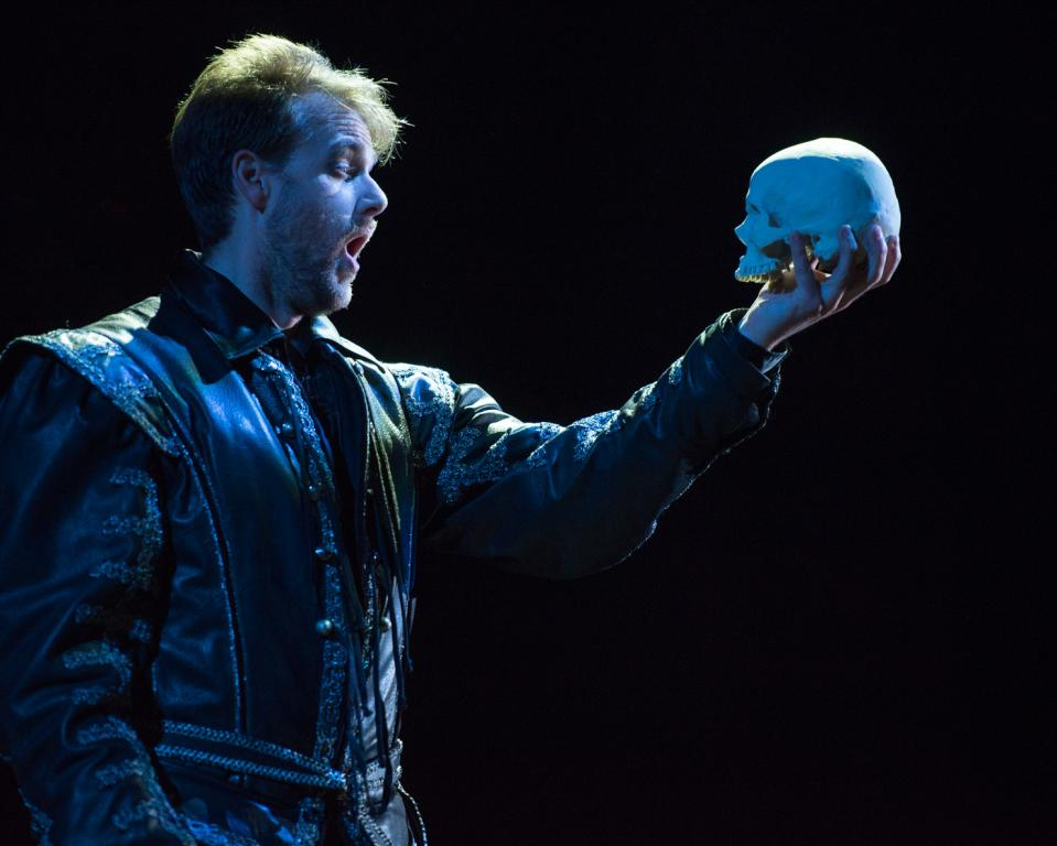 Josh Kohl as Hamlet