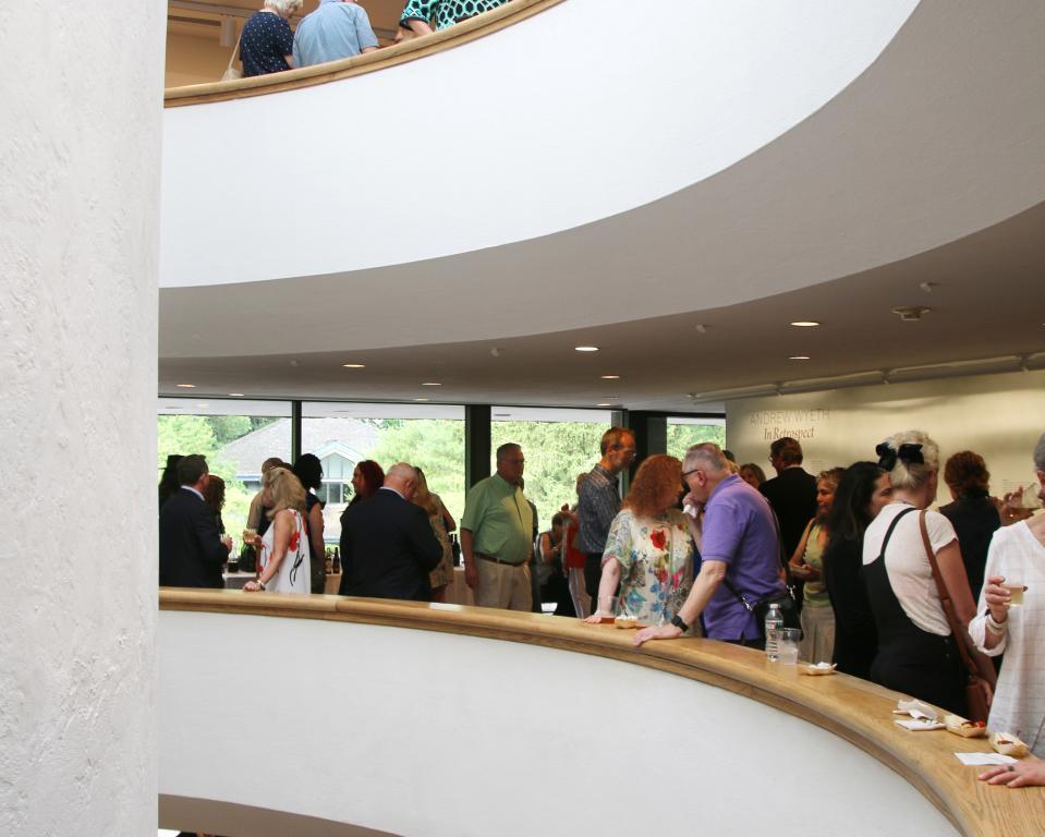 The main attrium of the Brandywine River Museum of Art