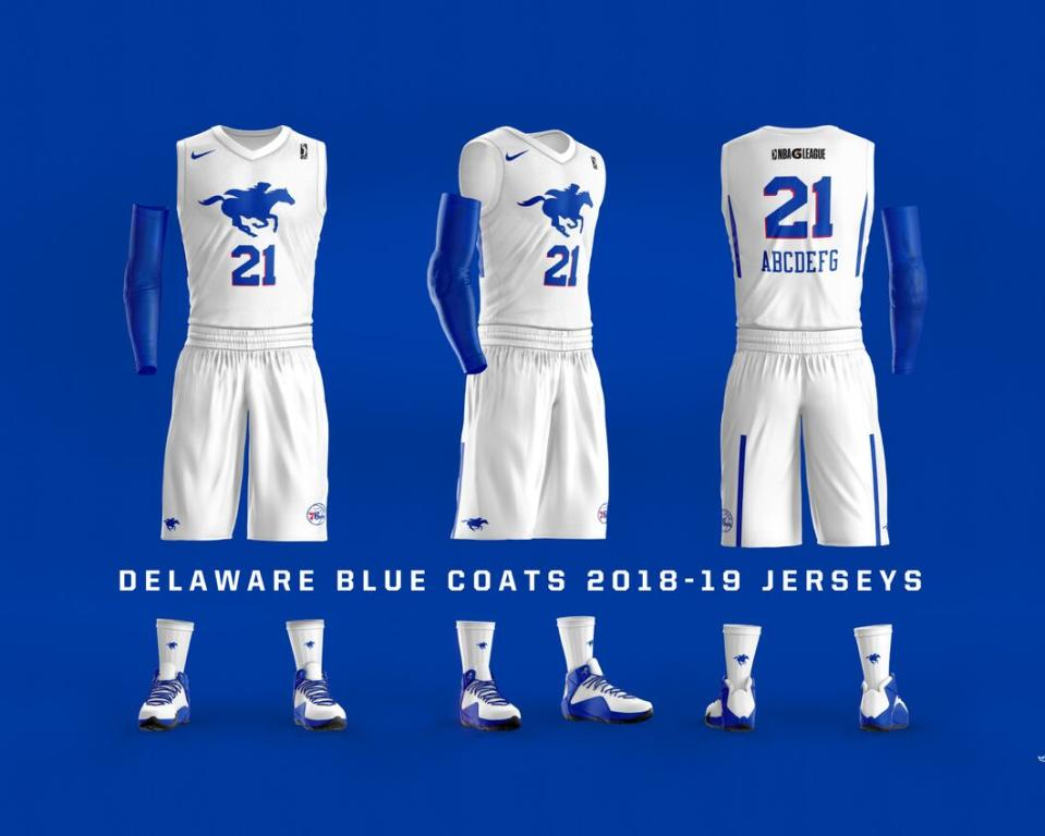 Delaware Blue Coats - Home Uniforms