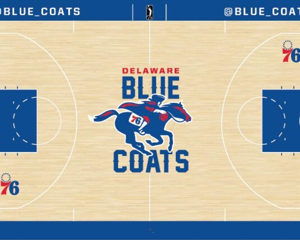 Delaware Blue Coats - Home Court