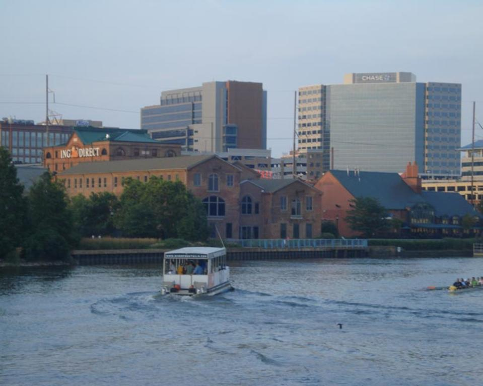 Riverfront Wilmington River Taxi, Delaware
