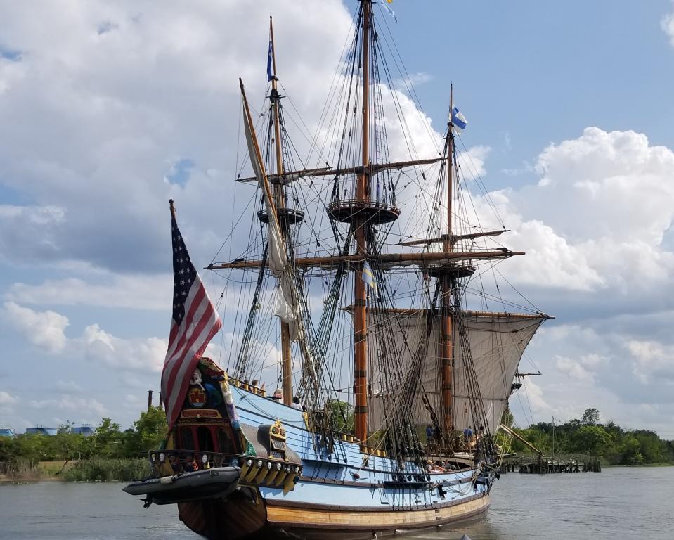 Kalmar Nyckel in Wilmington