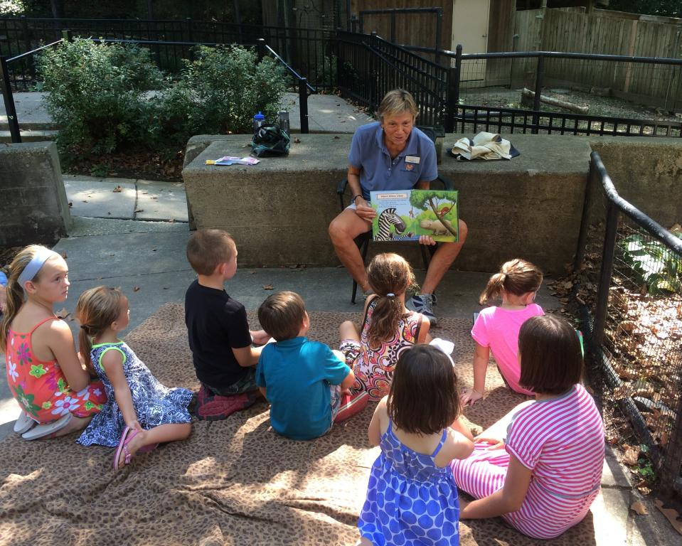 Storytime at Brandywine Zoo