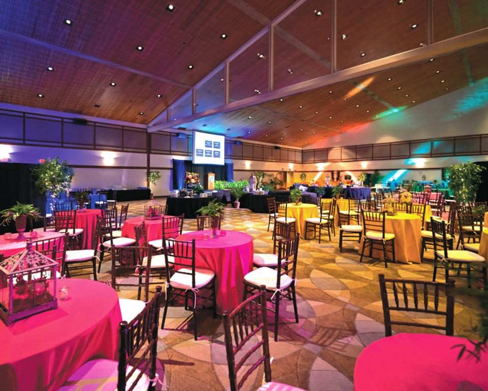 UD Clayton Ballroom Event Setup