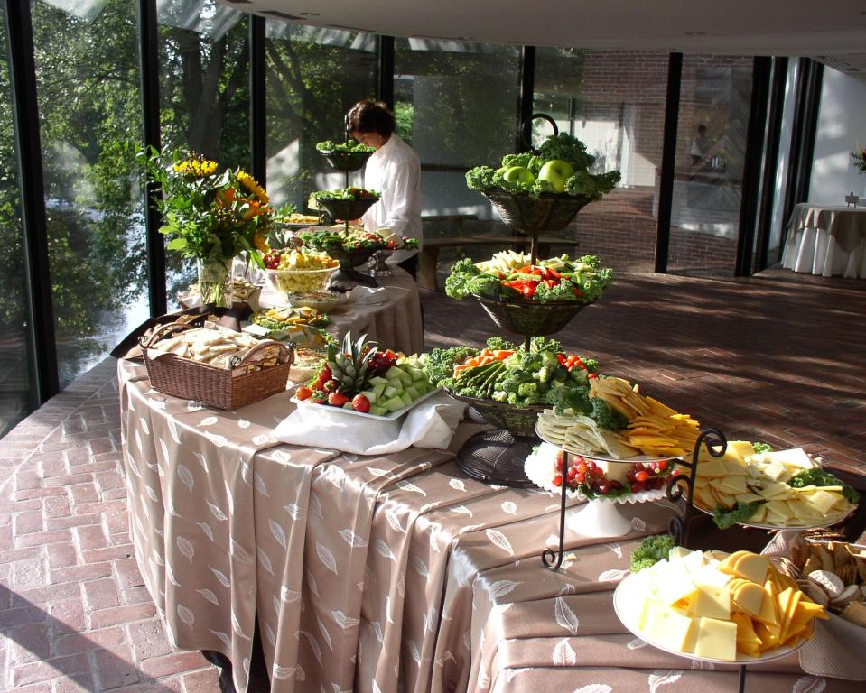 On-site event catering at the Brandywine River Museum of Art