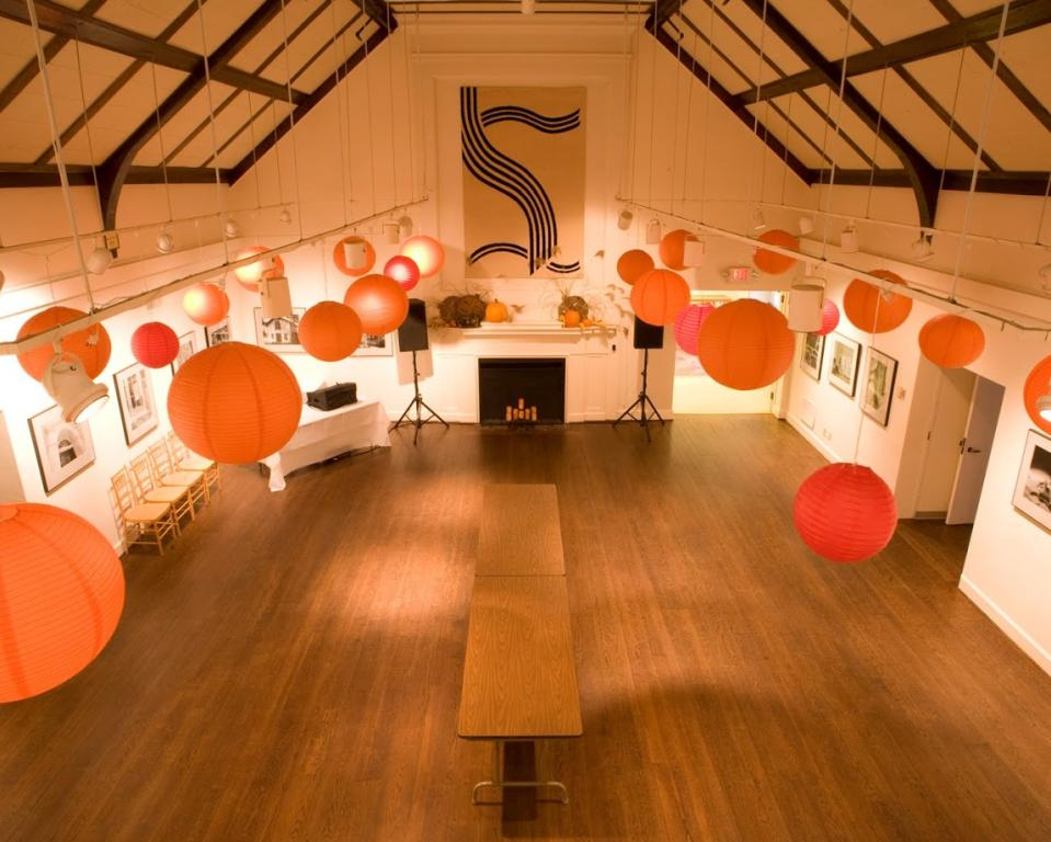 Hagley Soda House-Gallery Decorated with Lanterns