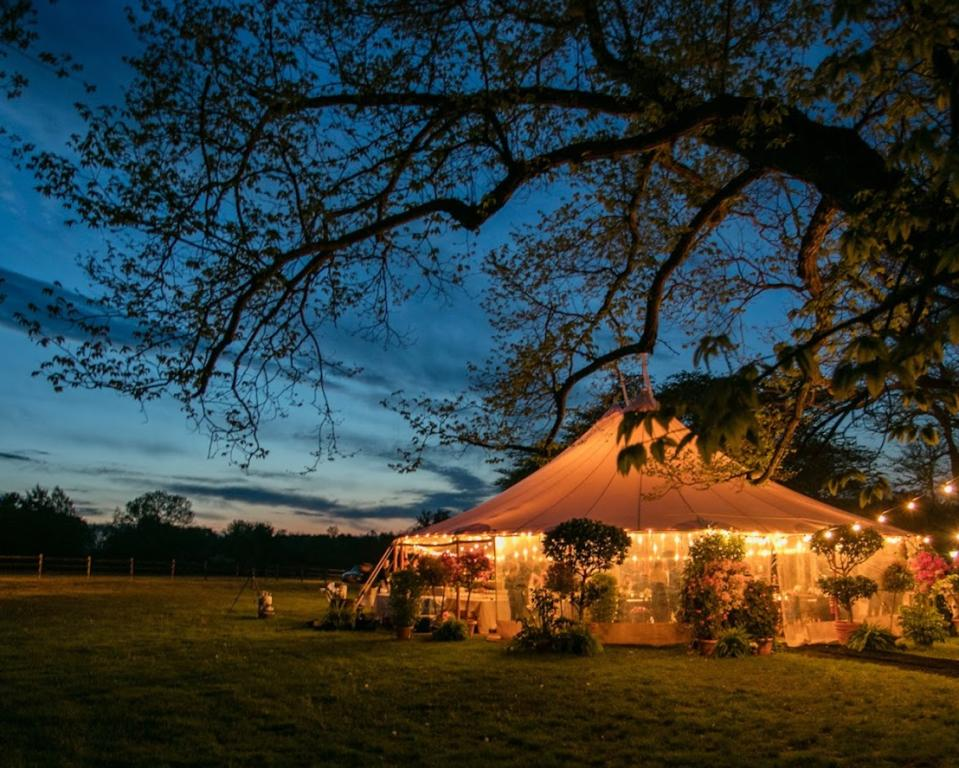 Tented Evening Event at Hagley