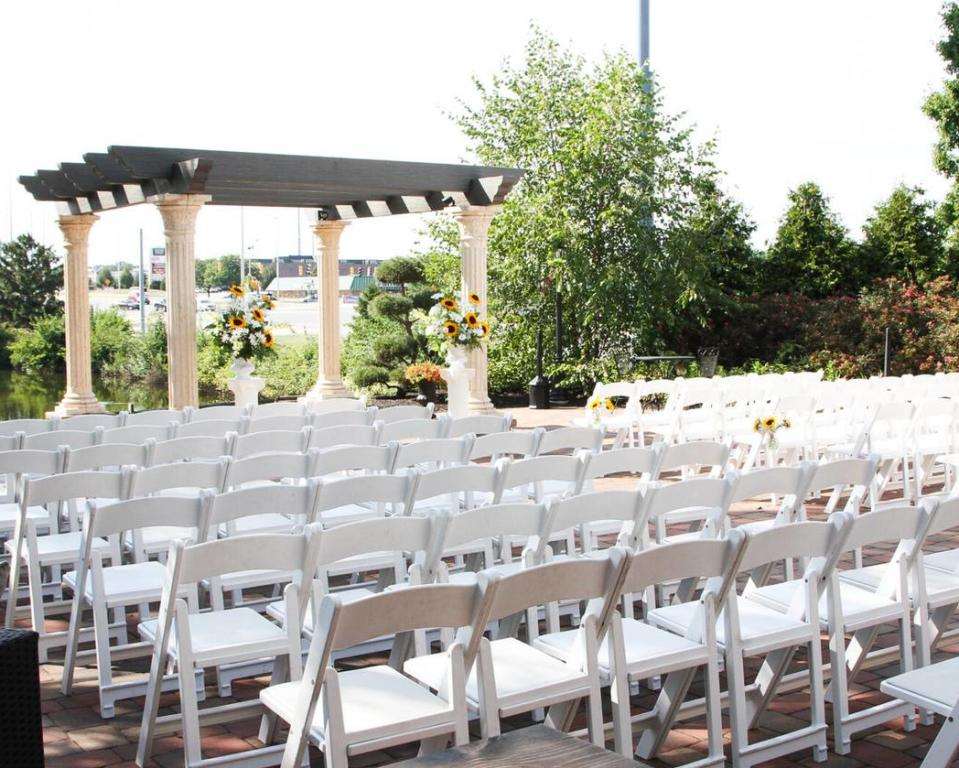 Outdoor Patio Ceremony