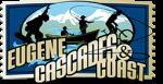 Eugene Cascades and Coast horizontal logo