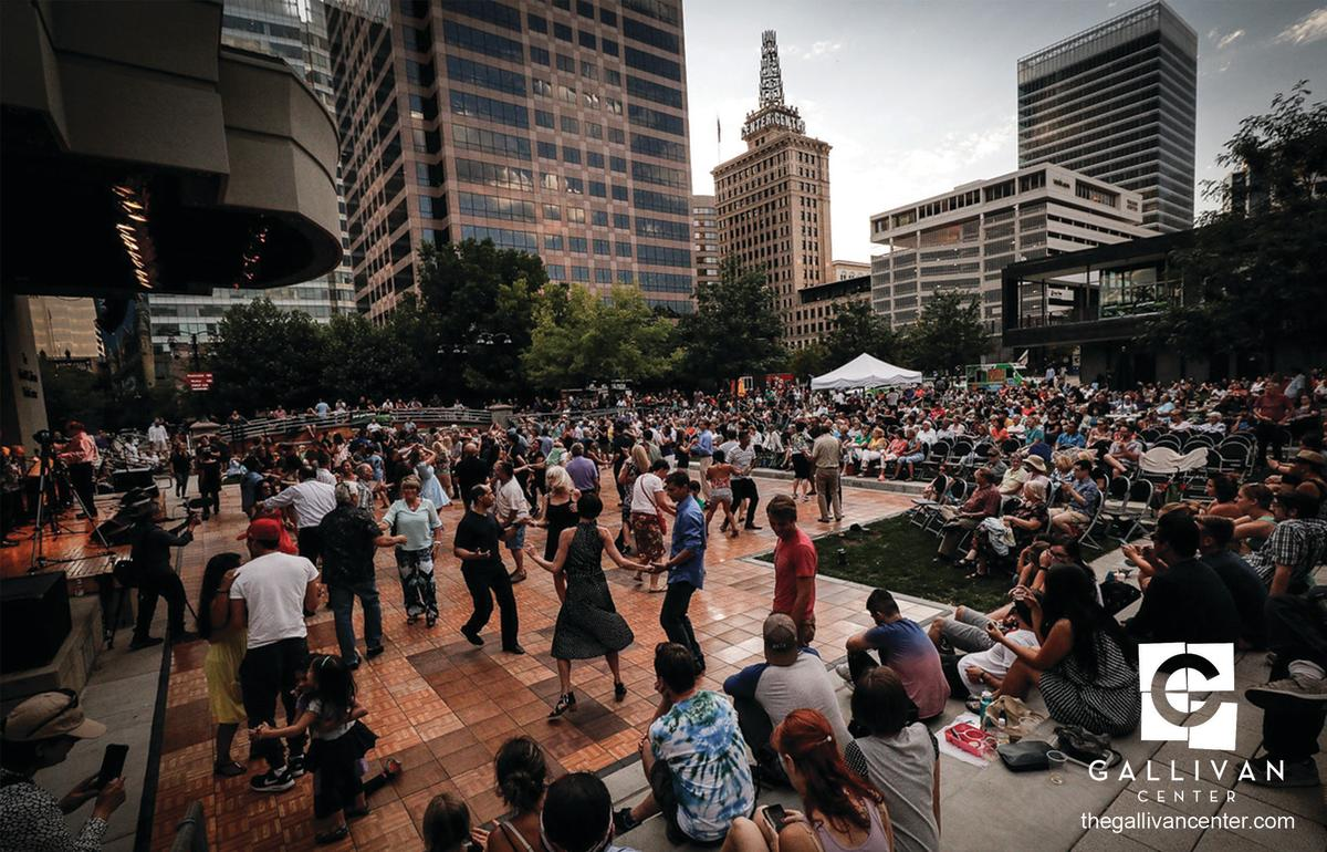 Big Band Dance Night at The Gallivan Center