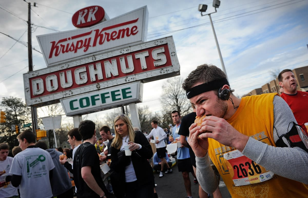 Krispy Kreme Challenge