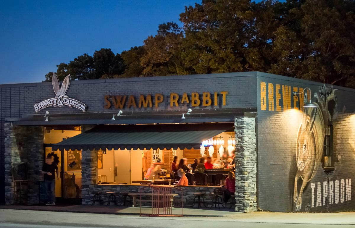 Located in Travelers Rest, the Swamp Rabbit Brewery & Taproom is a stop on The Brewery Experience tour where brewer and founder, Ben Pierson, showcases his spot-on, award-winning beers.