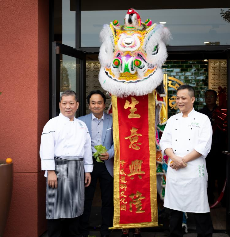 Chefs at the grand opening of Tim Ho Wan in Irvine