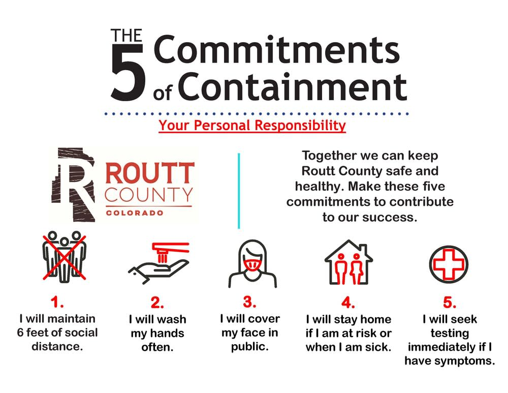 5 commitments of containment