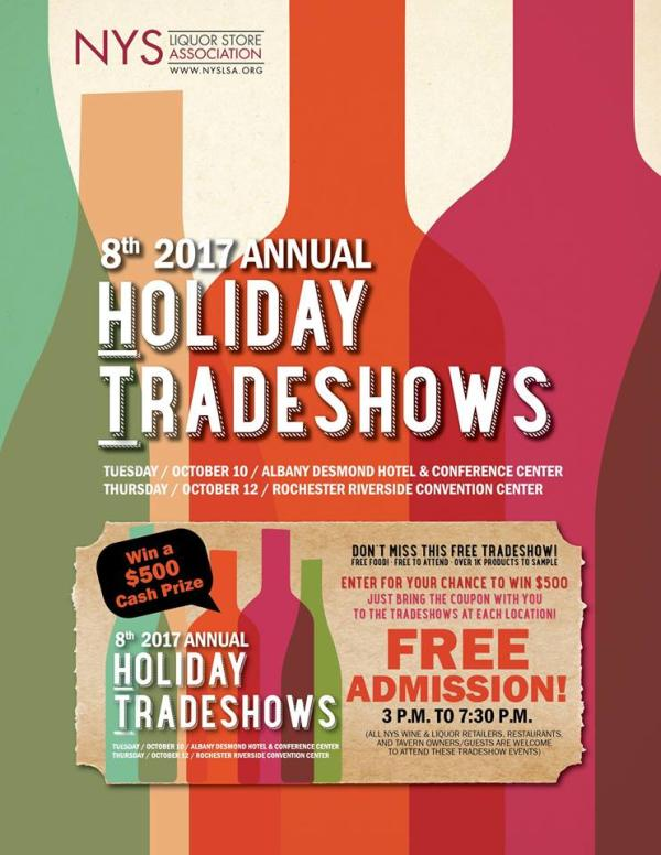 New York State Liquor Store Association Holiday Tradeshow