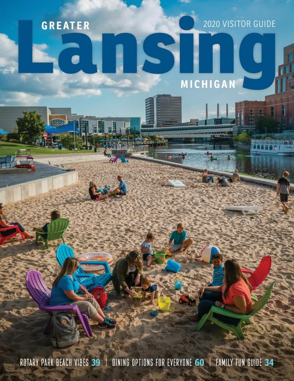 2020 Greater Lansing Visitor Guide Cover Image