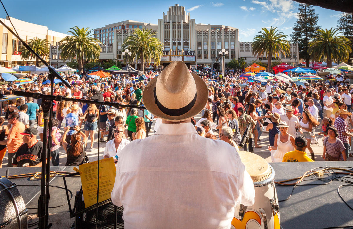 Salsa Festival Concert in Redwood City