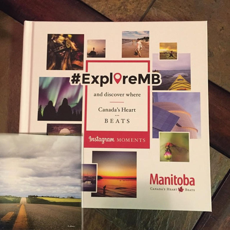 #ExploreMB Instagram Moments book.